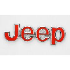 1 Pc New Jeep Chrome Logo 3D Decal Emblem Logo Sticker for JEEP Gold