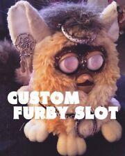 Custom Furby Slot Vintage Colorful Dye OOAKDOLLS
