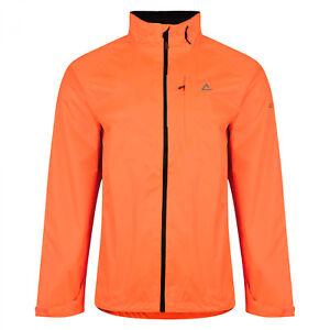 Dare2b-Luminous-Mens-Waterproof-Jacket-Orange-Full-Zip-Taped-Seams-Size-XL