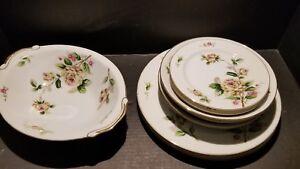 Ivory /& Pink Rose China Vintage Lynmore Fine China Japan Golden Rose