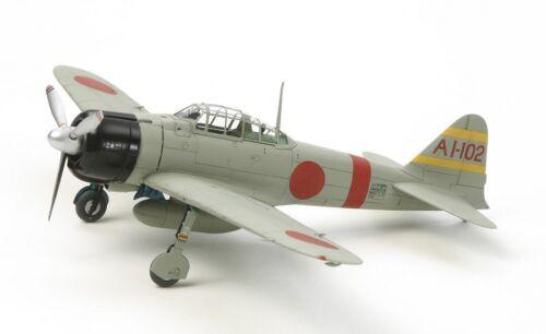 Tamiya 60780-1//72 WWII Japanische Mitsubishi A6M2B Zero Neu Zecke