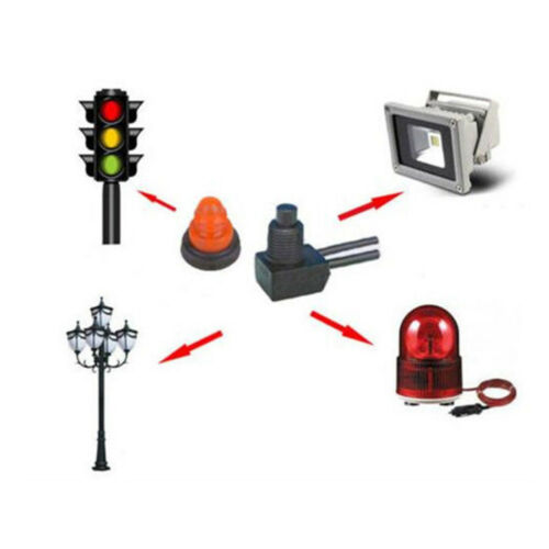 """Switch Fit Motorcycle Car Switch Push Button On Off With 4/"""" Lead Wire"""