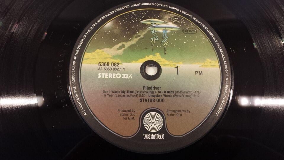 LP, Status Quo, Piledriver
