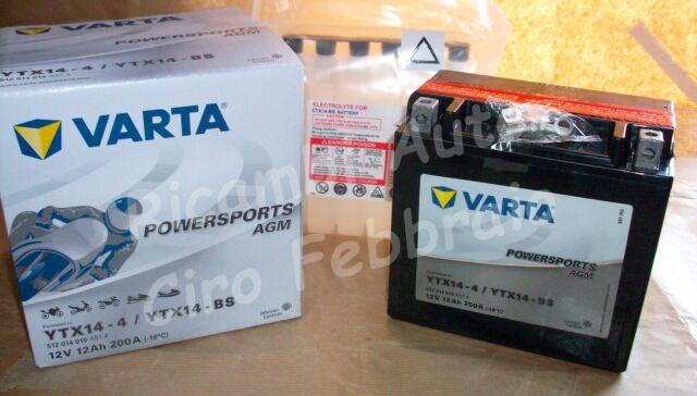 Batteria Avviamento Moto Varta Triumph Tiger 955 i T709EN 12V 12Ah 512014010
