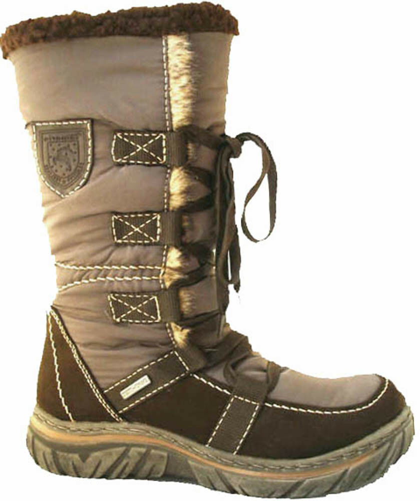 Tamaris Mid Calf Fur Lined Snow Winter Warm Stiefel, Stiefel, Stiefel, braun Größe UK 6 NEW eb90db