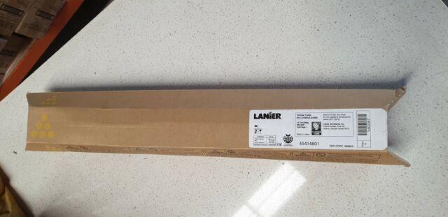 Genuine Lanier 888665 Yellow Toner for LD425C MP C2000 C2500 C3000 New Unopened
