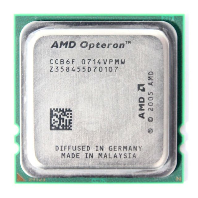 AMD Opteron 8216 2 x 2.40 GHz OSA8216GAA6CR Base/Socket F Dual Core CPU