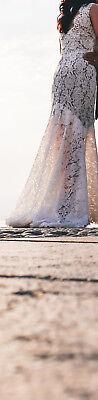 """Abito """"spose Di Gio'"""" Da Sposa Donna / Matrimonio, Taglia 42, Bianco"""