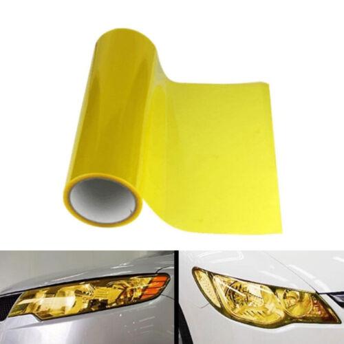 Scheinwerfer Folie Gelb 100 x 30 cm Tönungsfolie Rückleuchten Blinker Gold 1m