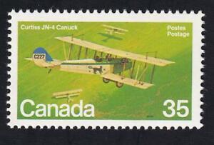 Canada MNH 1980 Military Aircraft Curtiss JN-4 Canuck, sc#875