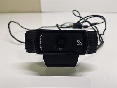 Logitech Hd Pro Webcam C910 1080p Usb Carl Zeiss Tessar Video Web