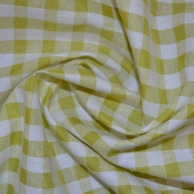 WHITE cotton fabric Makower 55 cm x 50 cm larger available Gingham PALE GREY