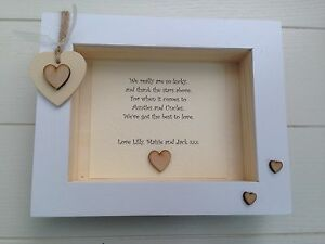 Shabby Personalised Chic Box Frame Special Auntie Aunty Aunt And