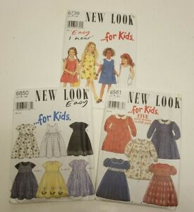 3-8 A New Look ...for Kids Pattern 6850 SIZE CHILDS DRESSES