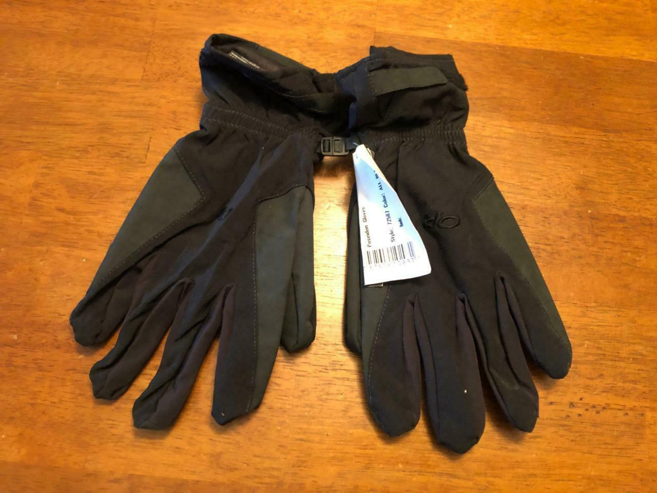 Outdoor Research Poseidon Gore-tex Black Gloves Stretch