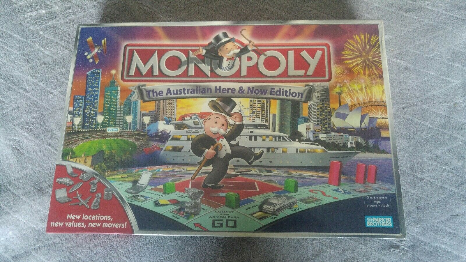 New sealed Monopoly Collectors Board Game Australian Here & Now Edition 2007