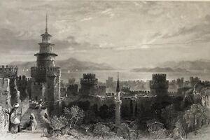 Turkey-State-Prison-the-Seven-Tomesi-at-Istanbul-Constantinople-Turkiye