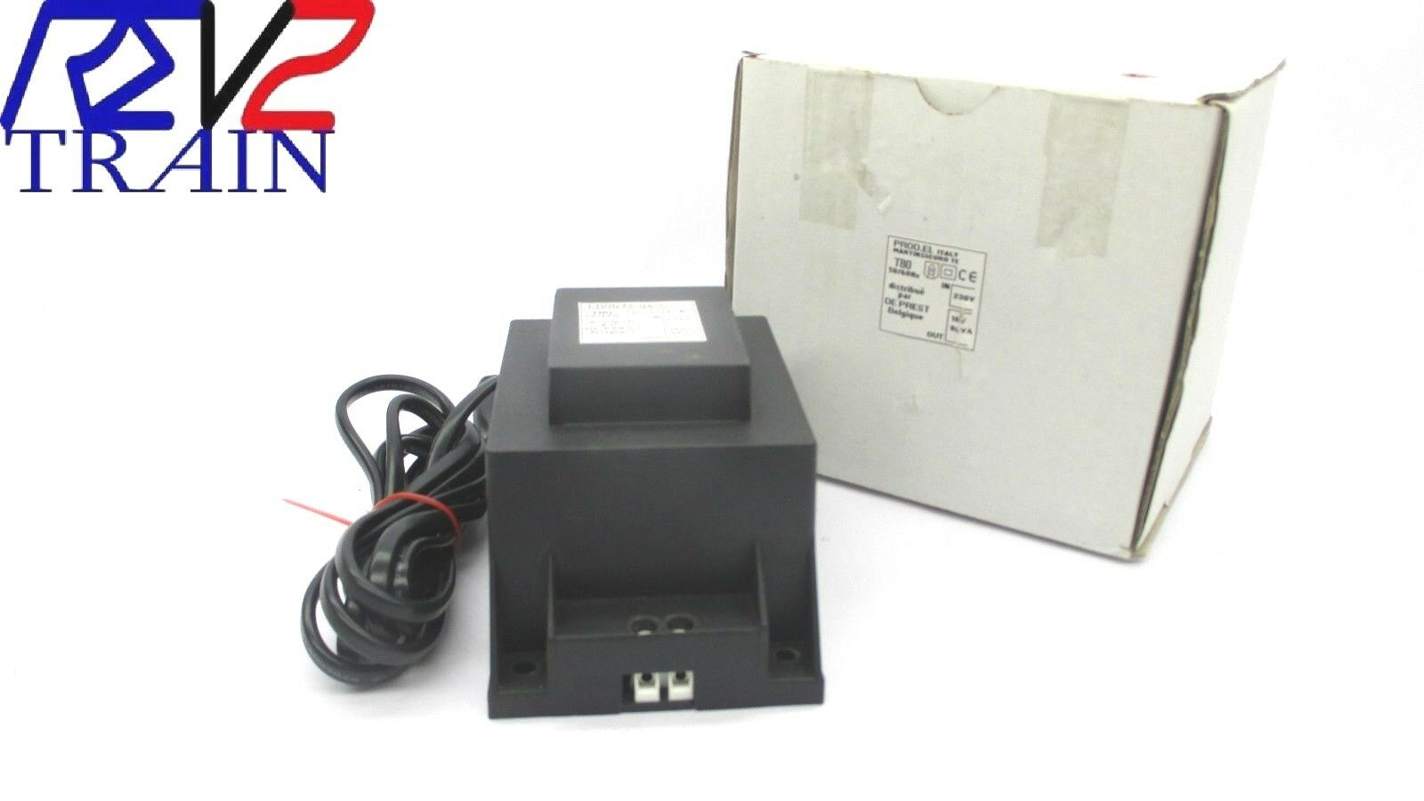 Transformateur une sortie 16V 80VA AC  PROD.EL T80 alimentation trains HO N Z