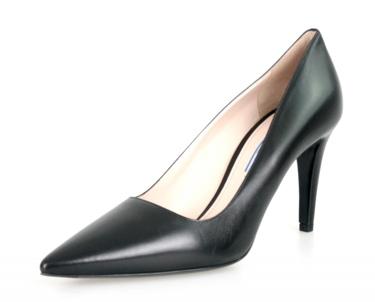 Auténticas clásicas de lujo Prada Zapatos de de de salón 1I615D Negro Nuevo 41 41,5 Reino Unido 8  El nuevo outlet de marcas online.