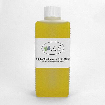 (5,98/100ml) Sala Bio Jojobaöl kaltgepresst gelb Jojoba Öl 250 ml