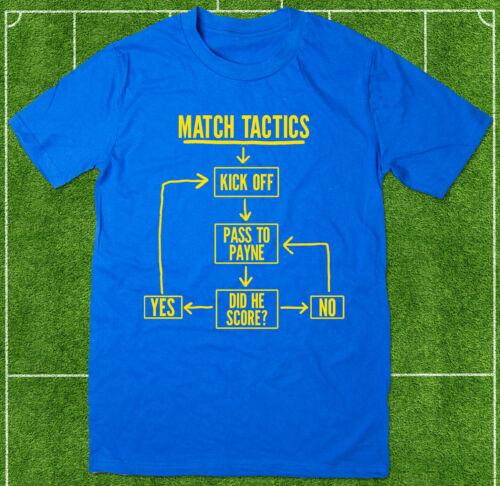 passe à Payne-Drôle Shrewsbury Town Fc Football T-Shirt MATCH tactique