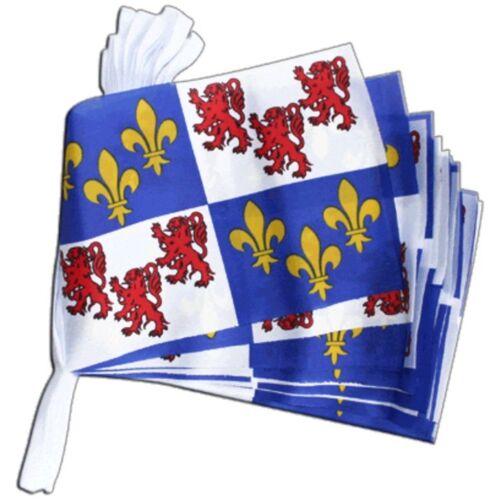 Drapeaux Chaîne Drapeaux Chaîne Guirlande France Picardie drapeaux Drapeaux 15x22cm