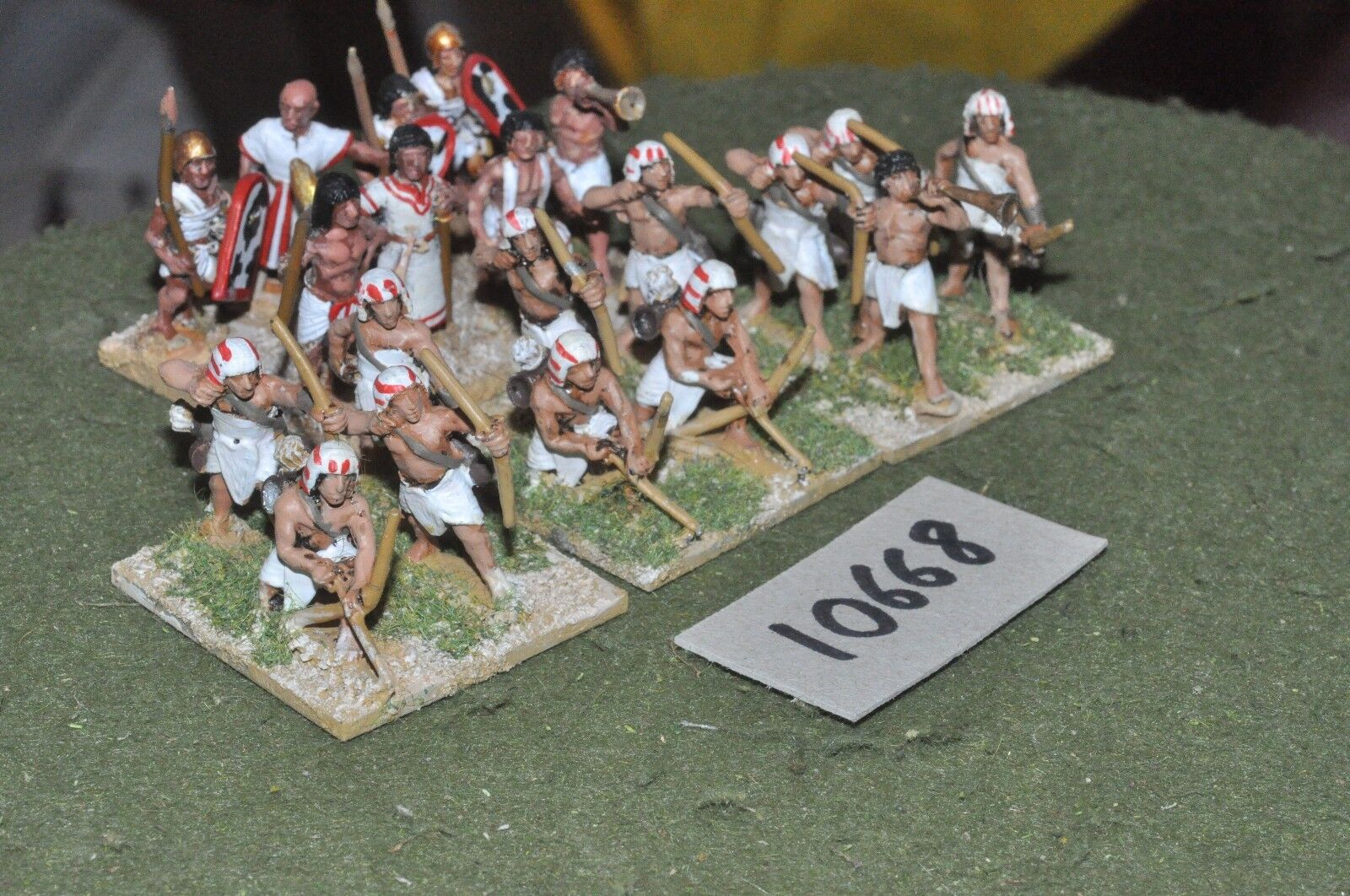 25mm foundry ancient egyptian archers 20 infantry (10668)