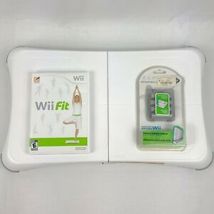 Nintendo-Wii-Fit-And-Wii-Fit-Balance-Board-With-Rechargeable-Battery-Pack-Tested