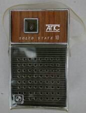 1970s AITC Solid State Taschen Transistor Pocket Radio