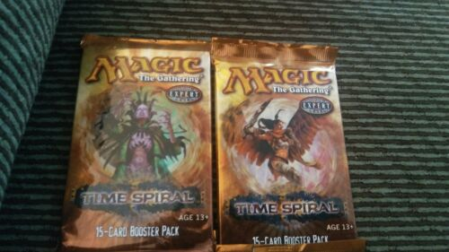 Magic the Gathering 2006 Time Spiral Booster Pack X2 SEALED English MTG