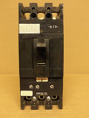GE TFJ TFJ236150 3 pole 150 amp trip 600V Breaker w// 24 vdc UNDERVOLTAGE RELEASE