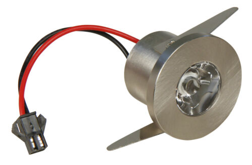 3W LED Lichtpunkt HOCHVOLT IP44 Bad-Spots Einbauleuchten Mini-LED /& Konverter