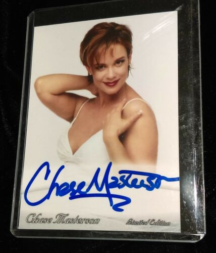 Chase Masterson TRADING CARD Signed AUTOGRAPHED COA Star Track DS9 Vienna