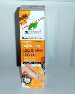 dr organic leg and vein cream