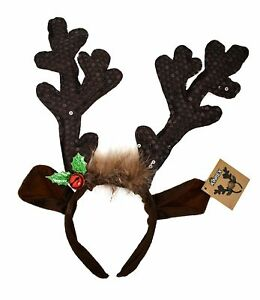 FUN @ CHRISTMAS REINDEER ANTLERS HEADBAND NEW!!!!!!