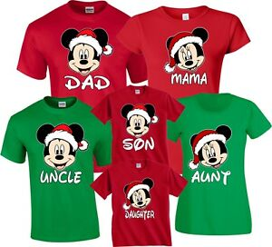 8d05b505 Mickey & Minnie MOM DAD Family Disney Vacation Christmas Customized ...
