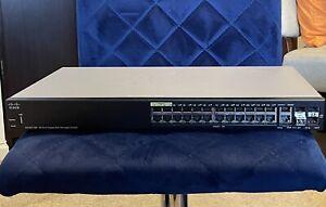 Cisco SG350-28P 28-Port Gigabit PoE Managed Switch
