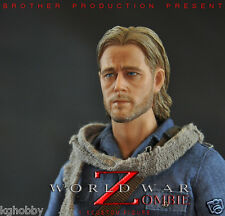 Brother Production World War Z Zombie Fighter 1/6 Brad Pitt action figure READY