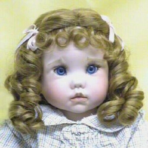 Monique Doll Wig size 5//6 ~ New in Box ~Mini Erika~ black color~CLEARANCE!