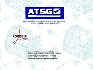 Details about ATSG -AUTOMATIC TRANSMISSION SERVICE GROUP 2017-TRANSMISSIONS  MANUALS-2017