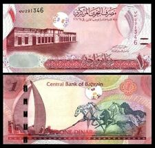 Bahrain - 1 dinar - 2016 issue - blind markings -  UNC currency note