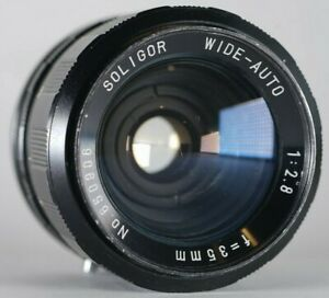Soligor-Wide-Auto-35mm-F2-8-M42-Pentax-Prime-Manual-Fast-Lens-9-10-Japan-49