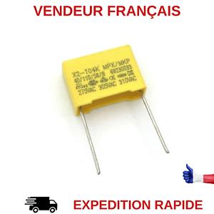 par 3 Condensateur 330NF 275V AC X2 MKP pas 15mm