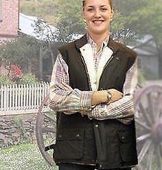 Brown Burke and WillsThe Derwent Sheepskin Vest