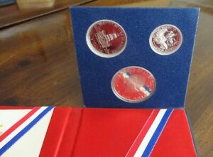 """U.S.A.1976 Silver Coins Proof Set BOX 1976 YEAR """"LIBERTY *w/ Certificate"""