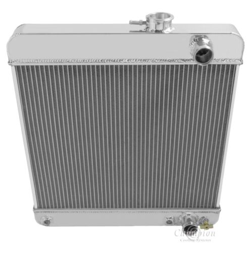 1964 1965 Olds Cutlass 3 Row Aluminum Radiator DR F-85