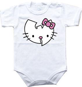 Baby Bodysuit Wu-tang Clan 3 Rock One Piece Jersey T-shirt Tee Kids RafraîChissant Et Enrichissant La Salive