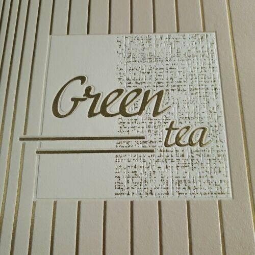 vinyl textured Wallpaper wall coverings beige gold metallic lines double roll 3D