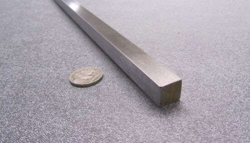 "+//-.001/"" Thick x 1//2/"" Wide x 36/"" Length Square O1 Tool Steel Ground Bar 1//2/"""