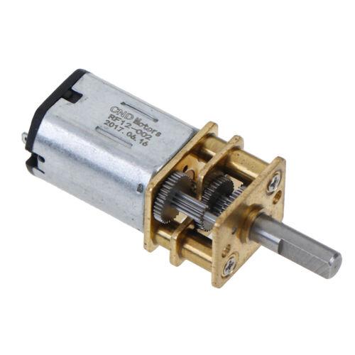 DC 6 V 12 V n20 Micro MetalGearMotor elektrische Getriebe 3 mm Wellendurchmesser